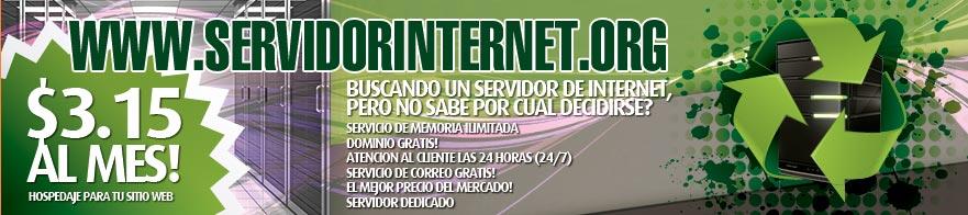 servidor-internet-pagina
